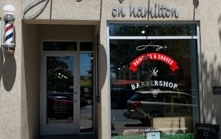 Jimmy's Barber Shop Hamilton Exterior