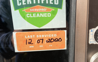 servpro cleaned certified